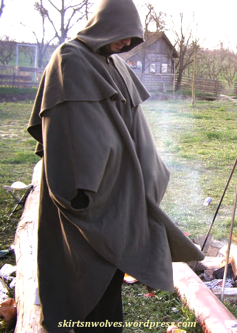 A good cloak is sometimes all you need - instant protection from elements. Also, smoke.