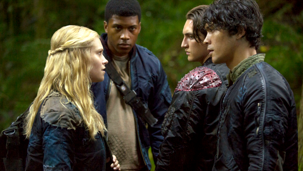 The 100 - Clarke and Bellamy