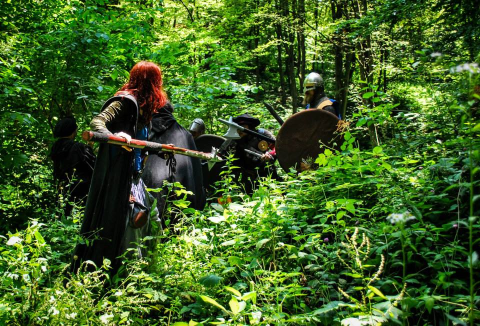 In the deep woods, clothing damage is inevitable - just like betrayal! Photo by Martina Šestić (Terra Nova, 2014)
