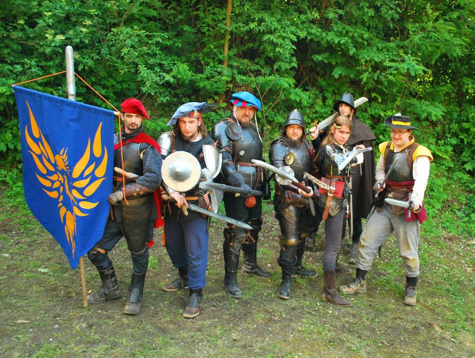 Photo by Martina Šestić, outfits and gear by assorted members of the Phoenix Brigade  and friends (Terra Nova, Croatia, 2013)